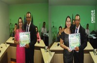 Câmara concede títulos de cidadão SaoJoseense durante sessão ordinária