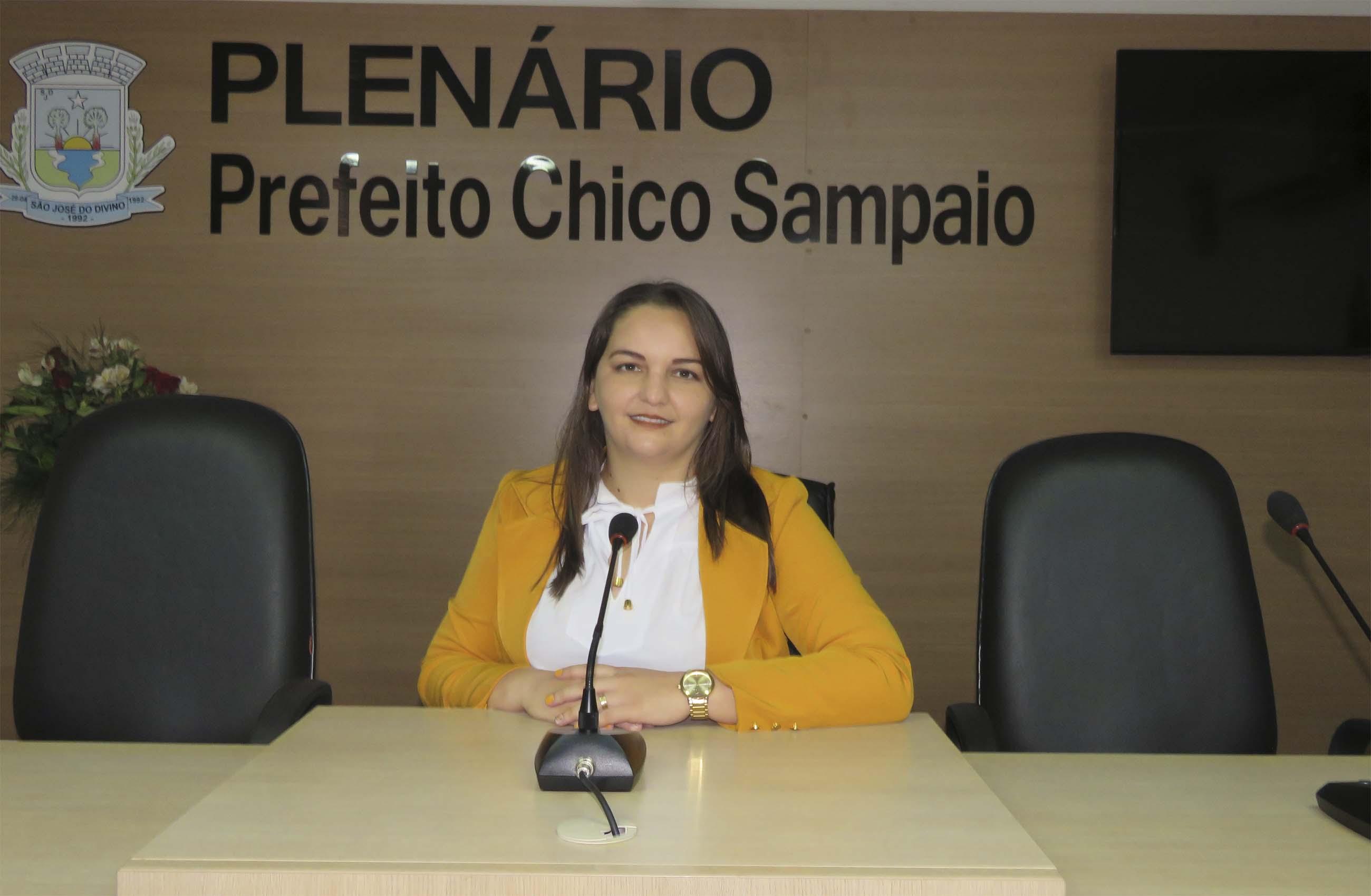 Patrícia Cerqueira é eleita presidente da Câmara municipal para o biênio 2021-2022