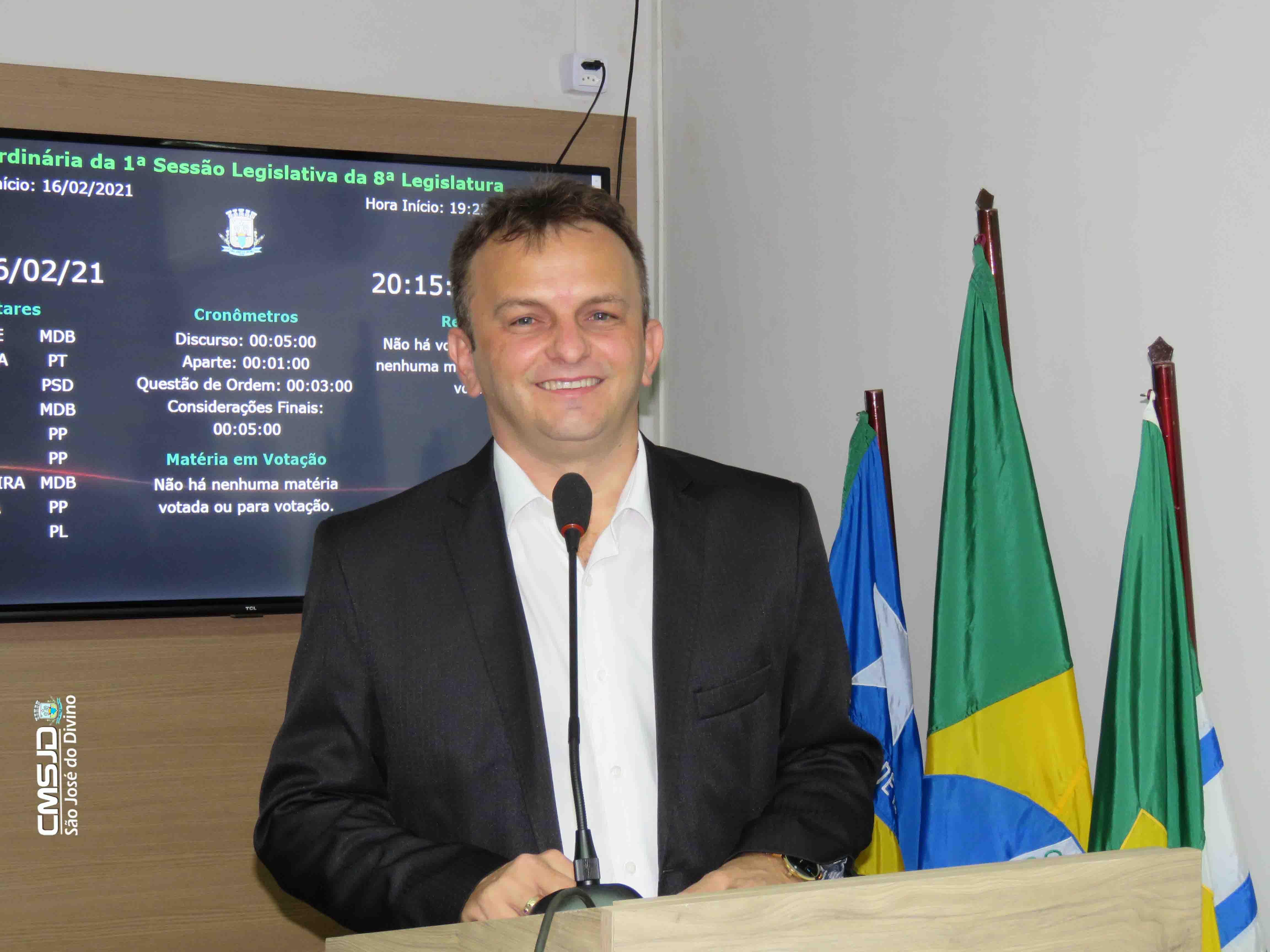 Prefeito Assis Carvalho participa da abertura do ano Legislativo e apresenta metas de Gestão para 2021