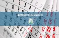 Presidente da Câmara divulga calendário legislativo 2017
