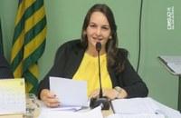 Ver. Patrícia propõe sessão em homenagem ao dia da mulher