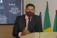 Ver. Portela lamenta morte do Sr. Chagas Cego e apresenta pêsames à família