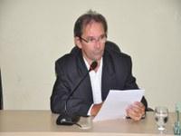 Ver. Prof. Bernardo propõe moções na Sessão ordinária 018/2015