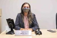 Vereadora Betânia indica ao Prefeito a implantação de placas de identificação para vários povoados do Município