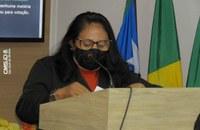 Vereadora Neném apresenta indicação solicitando recapeamento da PI 311