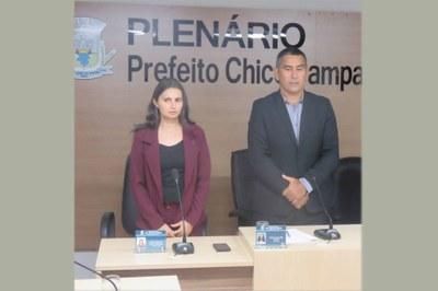 Vereadores Carlos Samuel e Betânia solicitam serviço de coleta de lixo no Tinguis, Gado apartado e Olarias